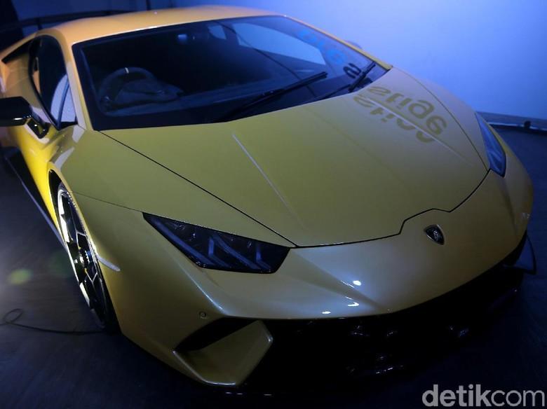 Lamborghini Huracan Foto: Agung Pambudhy