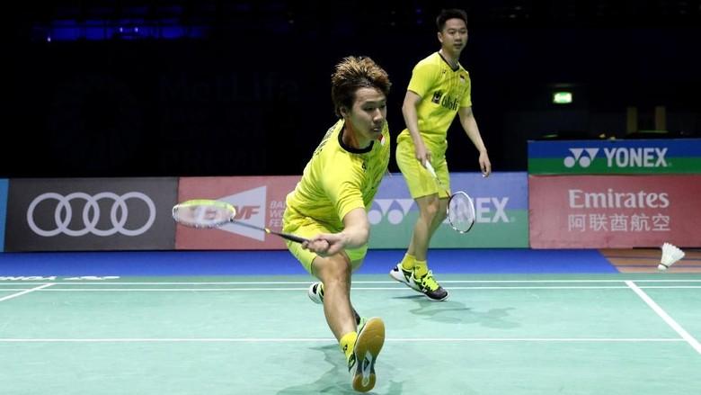 Kalahkan Pasangan China, Kevin/Marcus Lolos ke Semifinal