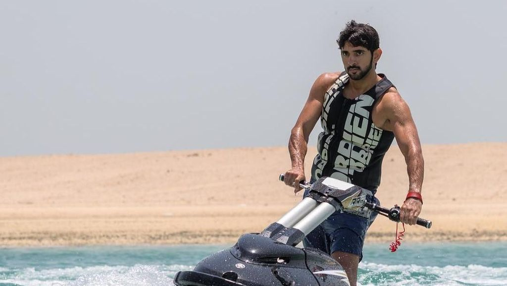 Pangeran Tampan Dubai Pamer Liburan ke Maldives