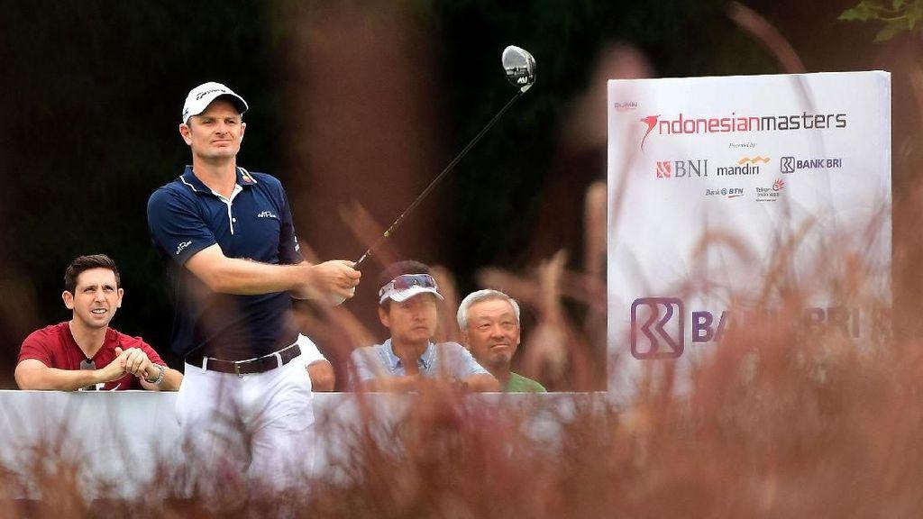 Justin Rose Pimpin Hari Kedua Indonesian Masters