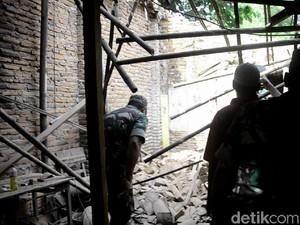Di Pekalongan, 1 Warga  Meninggal, 5 Rumah Rusak Akibat Gempa
