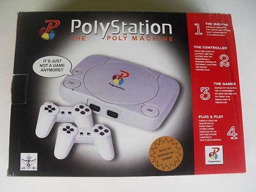 Playstation jadi Polystation. (Foto: Internet)