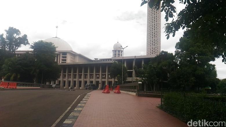Jadi Titik Kumpul Aksi 1712, Begini Persiapan Masjid Istiqlal
