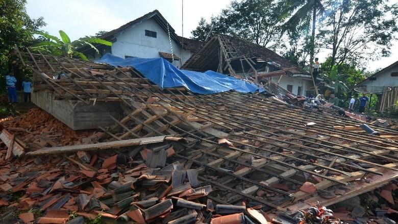 BPBD Terima Laporan 6.000 Bangunan Rusak di Tasikmalaya Akibat Gempa
