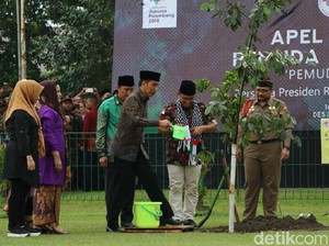 Presiden Jokowi Hadiri Apel Kebangsaan Pemuda Islam Indonesia