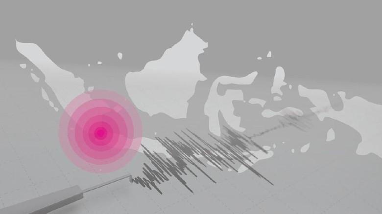 Gempa 6,9 SR, Rumah hingga Aula Kecamatan di Tasikmalaya Rusak