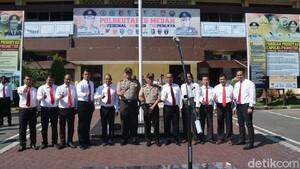 Polisi di Medan yang Tembak Mati Begal WN Italia Diberi Penghargaan