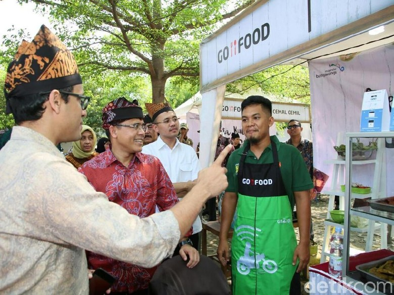Kolaborasi Pemkab Banyuwangi dan Go-Jek Dongkrak UMKM Kuliner Lokal