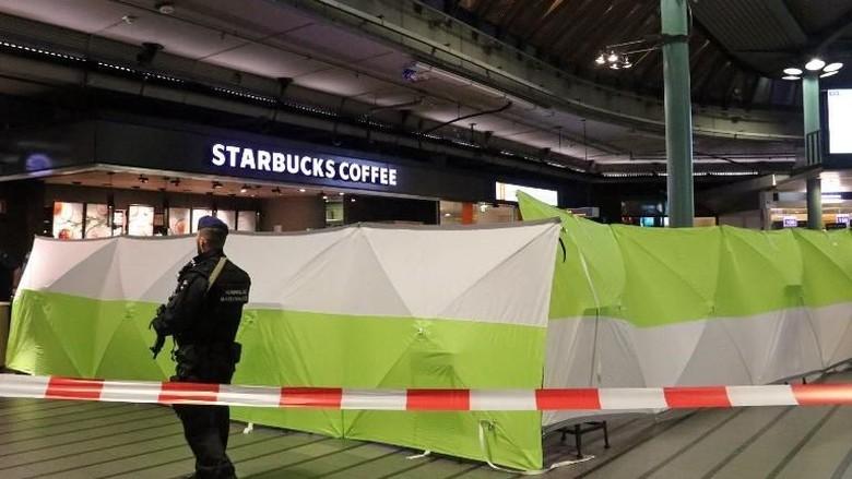 Ancam Polisi Militer, Pria Berpisau Ditembak di Bandara Schiphol