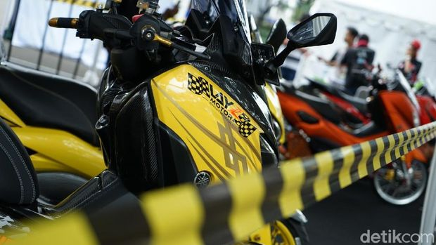 Puluhan Yamaha Xmax Nmax Dan Aerox Modif Sapa Tangerang