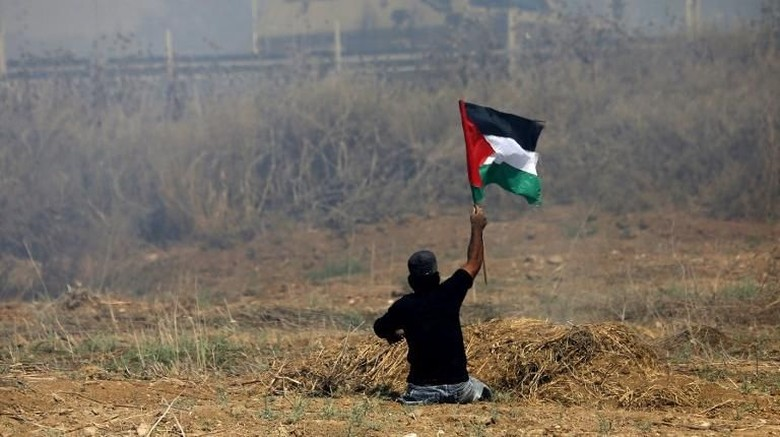 Foto: Ini Abu Thurayeh, Pria Berkursi Roda yang Tewas Ditembak Israel