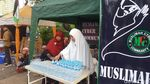 Penampakan Posko Makanan Gratis di Aksi Bela Palestina di Monas