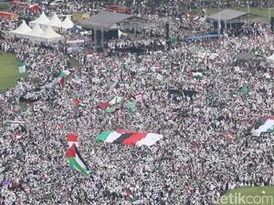 Aneka Support untuk Peserta Aksi Bela Palestina
