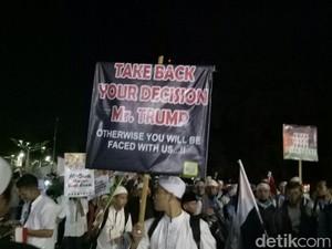 Massa Aksi Bela Palestina: Take Back Your Decision Mr Trump!
