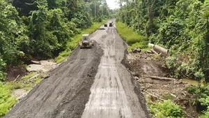 Ditarget Rampung 2019, Jalan Trans Papua Dibangun Sejak Era Habibie