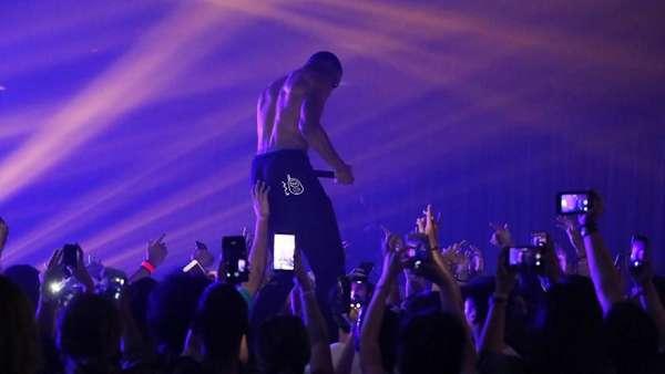 Aksi Desiigner Ajak Party Goers Berpesta di DWP 2017