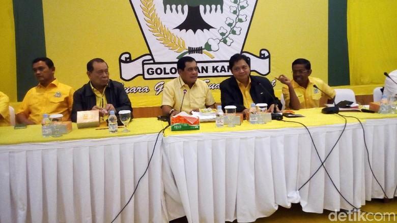 Airlangga Hadiri Rapat Pleno DPP Golkar