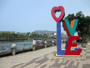 Cantiknya Love River di Kaohsiung