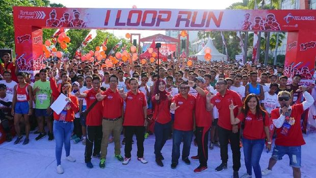 Foam and colour run di Madiun/