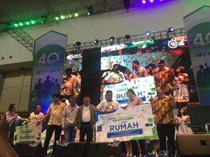 Sekuriti Beruntung Pemenang Rumah Rp 300 Juta