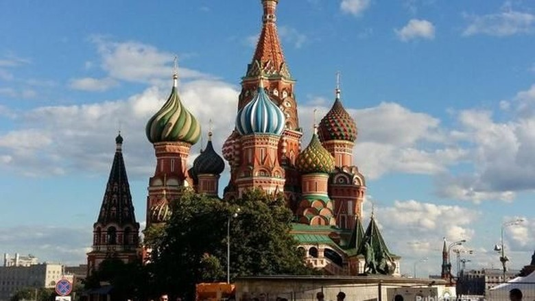 Katedral St Basil, landmark Kota Moskow (Novi Kusumayanti/dTraveler)