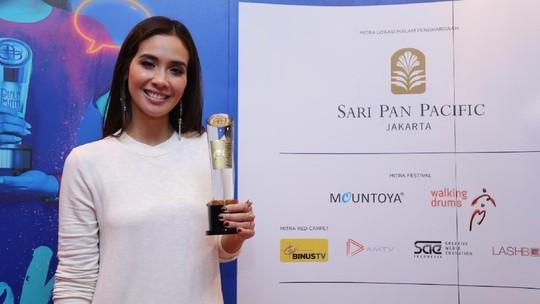 Marsha Timothy, Aktris Utama Terpilih Piala Maya 2017
