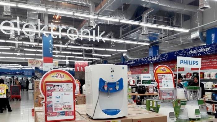 Promo blender dan alat elektronik rumah tangga di Transmart Carrefour