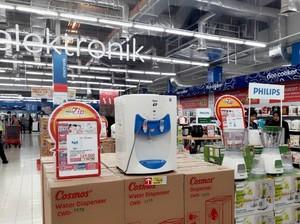 Beli TV hingga AC di Transmart Diskon 10%, Waktu Terbatas!