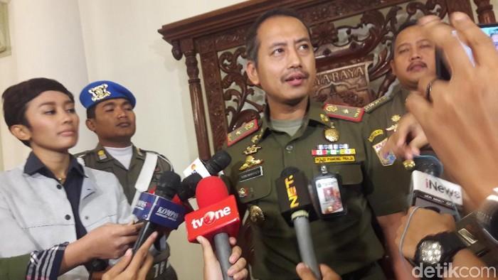 Kasatpol PP DKI Jakarta Yani Wahyu Purwoko (Marlinda/detikcom)