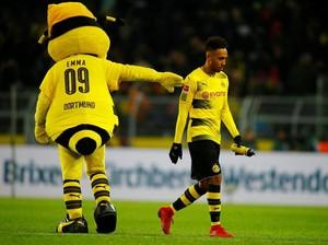 Aubameyang yang Sering Telat Bikin Pusing Dortmund