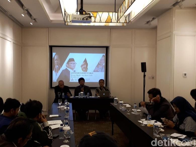 Survei Instrat : Eletabilitas Ridwan Kamil Turun Saat Berpasangan