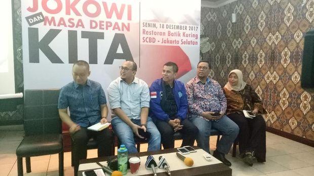 Survei PolMark: Elektabilitas Jokowi 50,2% dan Prabowo 22%