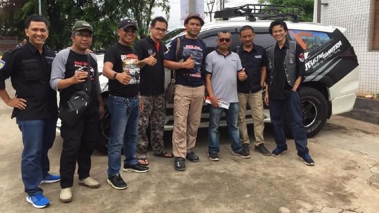 Komunitas Pajero Sport Siap Jelajahi Sumatera Foto: dok. istimewa