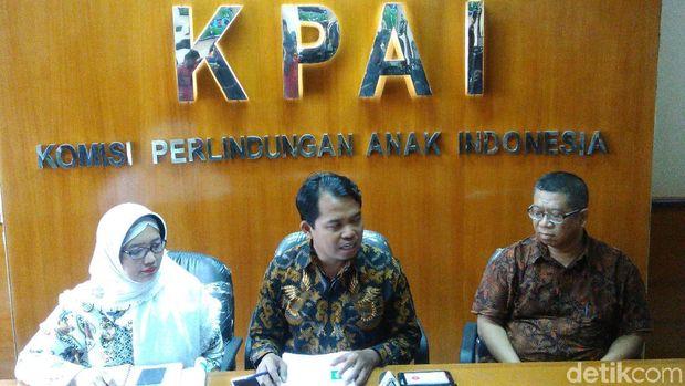 Jumpa pers KPAI dan penerbit Yudhistira