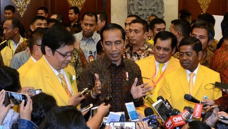 Airlangga Pastikan Golkar Tak akan Tinggalkan Jokowi