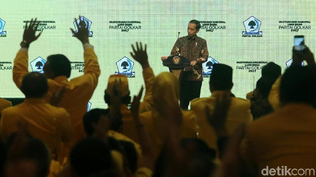 Para Caketum Golkar Mundur Sebelum Munas, Ada Faktor Jokowi?