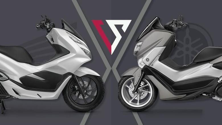 Nmax vs PCX, Aerox vs Vario, Begini Persaingan Skutik Bermesin 150 cc Foto: Andhika Akbarayansyah