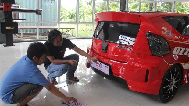 Mobil listrik ITS Surabaya