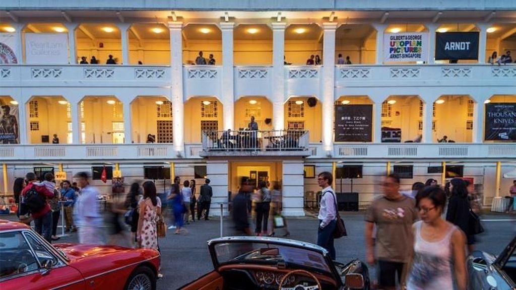 Destinasi Asyik di Singapura Buat Traveler Pecinta Seni