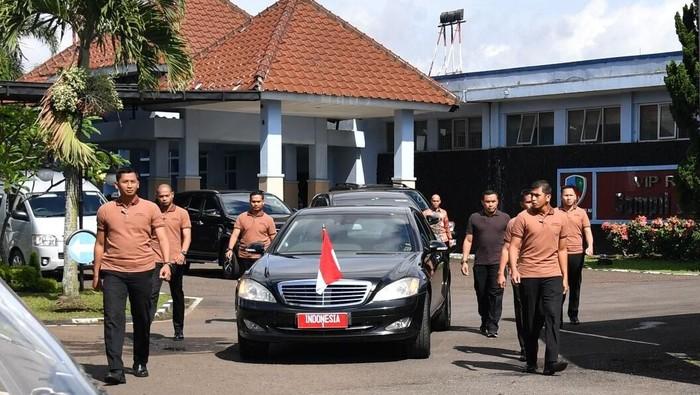 Paspampres mengawal Presiden Joko Widodo (dok.istana)