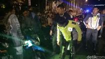 Puluhan Motor Tak Sesuai Standart Terjaring Razia Polres Banyuwangi