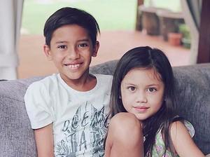 Jason dan Sarah, si Ganteng dan Cantik Anak Nana Mirdad