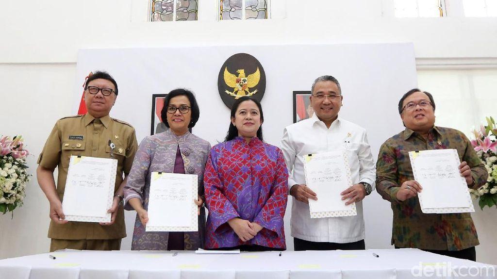 4 Menteri Sepakati Program Padat Karya Cash Senilai Rp 18 Triliun