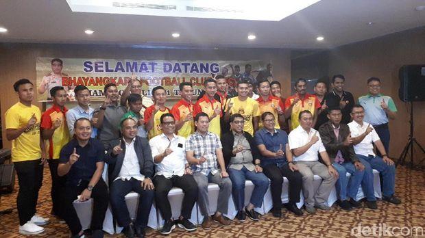 Kapolda Jatim sambut tim Bhayangkara FC/