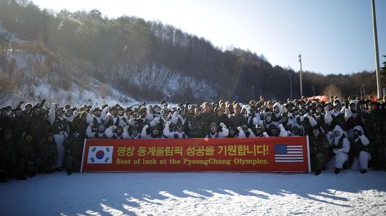 Kim Jong Un Mencak-mencak, AS-Korsel Tetap Latihan Tembak
