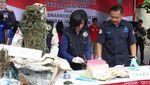 Foto: Pemusnahan Barang Bukti Narkoba di Polda Jatim