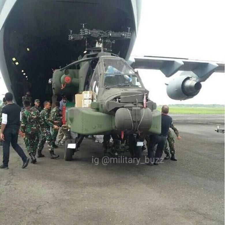 Panglima TNI: 3 Heli Apache dari AS Sudah Tiba, Tahun Depan 5 Lagi