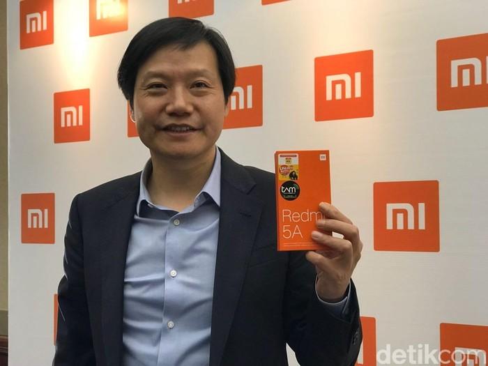 CEO Xiaomi Lei Jun (Foto: Adi Fida Rahman/detikINET)