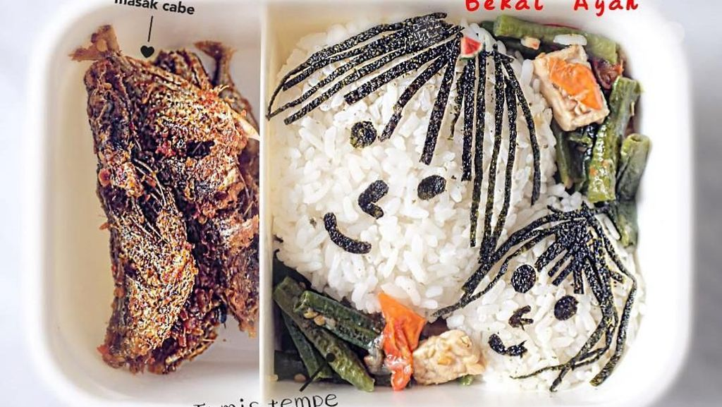 Aneka Bekal Bikinan Sarwendah hingga Ayam Goreng KFC Beraroma Lembut