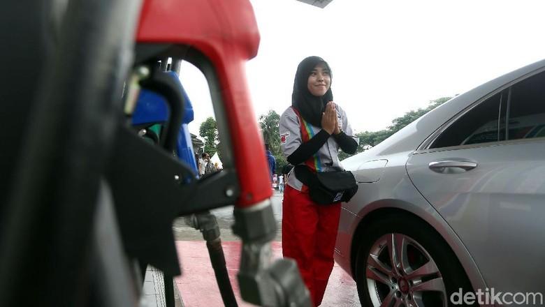Pertamax Turbo (Foto: Rengga Sancaya)